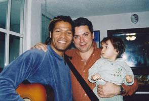Con Amaury Gutiérrez