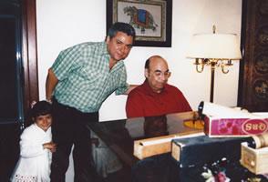Con Eduardo Magallanes