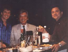 Con Emmanuel y Manuel Alejandro