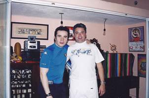 Con José Cantoral
