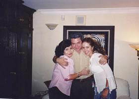 Con Lucero León y Lucero