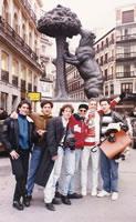 Con Magneto grabando Vuela Vuela en España