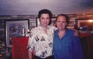 Con Rafael Pérez Botija