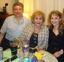 Con Silvia Pinal