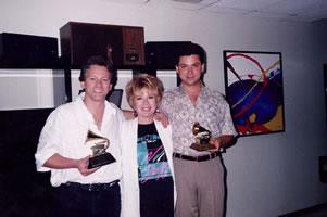Con Vikki Carr y Marcos Maynard