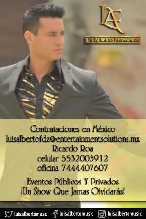 Luis Alberto Fernández Contrataciones en México